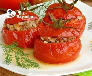 Etli domates dolması