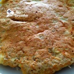 yulafli omlet tarifi