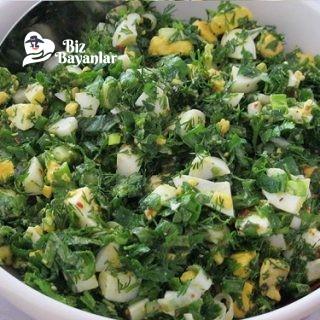 yumurta salatasi tarifi