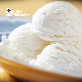 kaymakli dondurma tarifi
