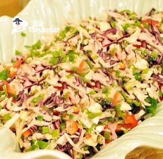 lahana salatasi tarifi