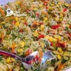 pirinc salatasi tarifi