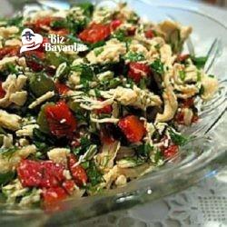 tavuk salatasi tarifi