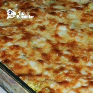 firinda basamel soslu mantar tarifi