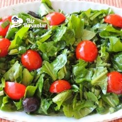 roka salatasi tarifi