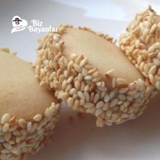 susamli tahinli kurabiye tarifi