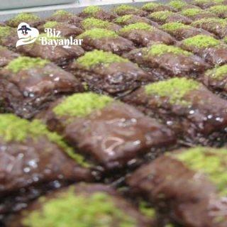 cikolatalı baklava tarifi