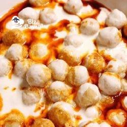 yogurtlu patates koftesi