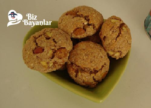 yulafli kurabiye