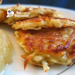 patatesli pankek tarifi