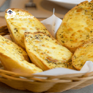 sarimsakli ekmek tarifi