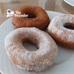 sekerli donut tarifi