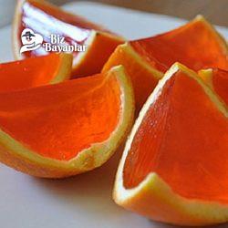portakal kabugunda jole tarifi
